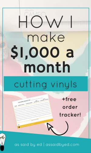 How I Make $1,000 a month